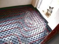 Podlahové topení svépomocí - instalace zákazník Velhartice