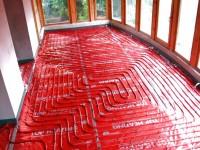 Podlahové topení svépomocí - instalace zákazník Čáslav