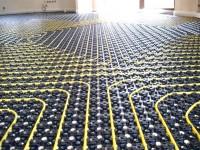 Podlahové topení svépomocí - instalace zákazník Lednice
