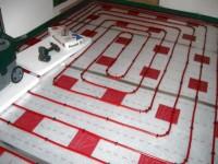 Podlahové topení svépomocí - instalace zákazník Nový Bydžov