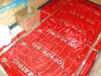 Podlahové topení svépomocí - instalace zákazník Karlštějn