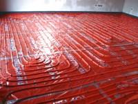 Podlahové topení svépomocí - instalace zákazník Bouzov