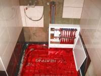 Podlahové topení svépomocí - instalace zákazník Polička