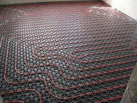 Podlahové topení svépomocí - instalace zákazník Holešov