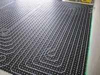 Podlahové topení svépomocí - instalace zákazník Polná