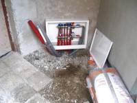 Podlahové topení svépomocí - instalace zákazník Přelouč