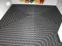 Podlahové topení svépomocí - instalace zákazník Mnichovo Hradiště