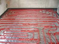 Podlahové topení svépomocí - instalace zákazník Terezín