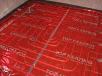Podlahové topení svépomocí - instalace zákazník Olbramovice