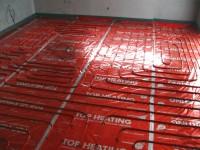 Podlahové topení svépomocí - instalace zákazník Hulín