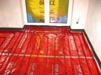 Podlahové topení svépomocí - instalace zákazník Počátky