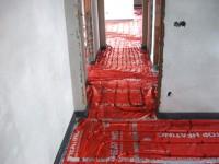 Podlahové topení svépomocí - instalace zákazník Frenštát pod Radhoštěm