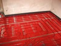 Podlahové topení svépomocí - instalace zákazník Jesenice