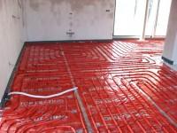 Podlahové topení svépomocí - instalace zákazník Staré Město