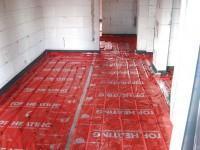 Podlahové topení svépomocí - instalace zákazník Kostelec