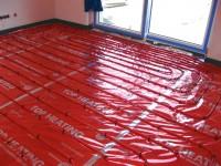 Podlahové topení svépomocí - instalace zákazník Velká Bíteš