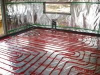 Podlahové topení svépomocí - instalace zákazník Zruč nad Sázavou