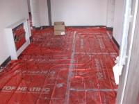 Podlahové topení svépomocí - instalace zákazník Milovice