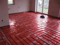 Podlahové topení svépomocí - instalace zákazník Loket