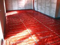 Podlahové topení svépomocí - instalace zákazník Podbořany
