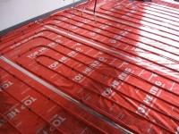 Podlahové topení svépomocí - instalace zákazník Litovel