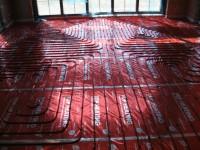 Podlahové topení svépomocí - instalace zákazník Příbor