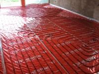 Podlahové topení svépomocí - instalace zákazník Slavkov u Brna