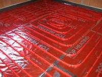 Podlahové topení svépomocí - instalace zákazník Tovačov