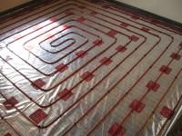 Podlahové topení svépomocí - instalace zákazník Vyškov