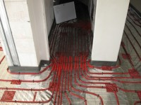 Podlahové topení svépomocí - instalace zákazník Hranice na Moravě