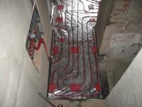 Podlahové topení svépomocí - instalace zákazník Jihlava