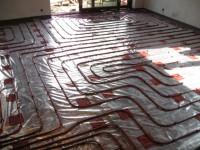 Podlahové topení svépomocí - instalace zákazník Znojmo