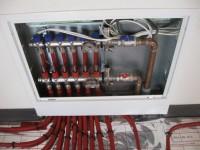 Podlahové topení svépomocí - instalace zákazník Písek