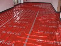 Podlahové topení svépomocí - instalace zákazník Kutná Hora
