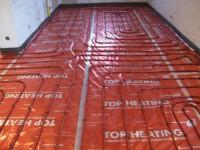 Podlahové topení svépomocí - instalace zákazník Kolín