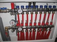 Podlahové topení svépomocí - instalace zákazník Prostějov