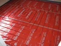 Podlahové topení svépomocí - instalace zákazník Šumperk