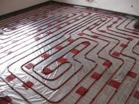 Podlahové topení svépomocí - instalace zákazník Beroun