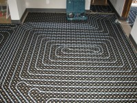 Podlahové topení svépomocí - instalace zákazník Kladno