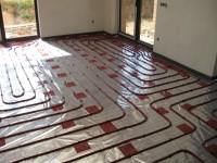 Podlahové topení svépomocí - instalace zákazník Cheb