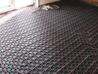 Podlahové topení svépomocí - instalace zákazník Litvínov