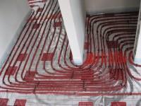 Podlahové topení svépomocí - instalace zákazník Bruntál