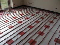 Podlahové topení svépomocí - instalace zákazník Kojetín