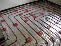 Podlahové topení svépomocí - instalace zákazník Strakonice