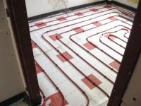 Podlahové topení svépomocí - instalace zákazník Domažlice