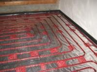 Podlahové topení svépomocí - instalace zákazník Krušovice