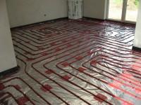 Podlahové topení svépomocí - instalace zákazník Most