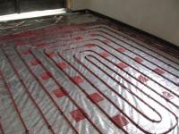 Podlahové topení svépomocí - instalace zákazník Moravské Budějovice