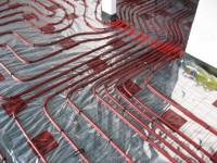 Podlahové topení svépomocí - instalace zákazník Ivančice