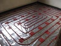 Podlahové topení svépomocí - instalace zákazník Mikulov